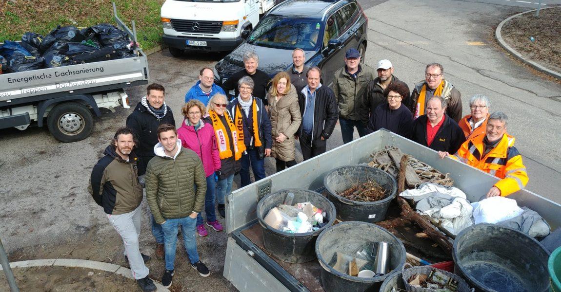Alle 91 Glascontainer-Standorte Baden-Badens sind wieder herausgeputzt