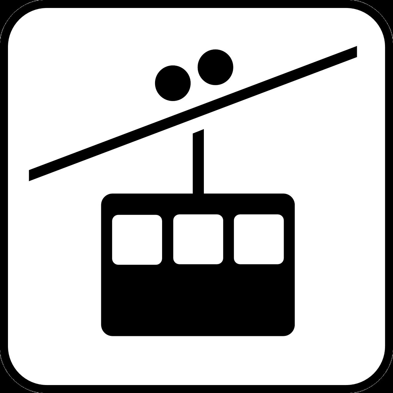 Seilbahn Symbol