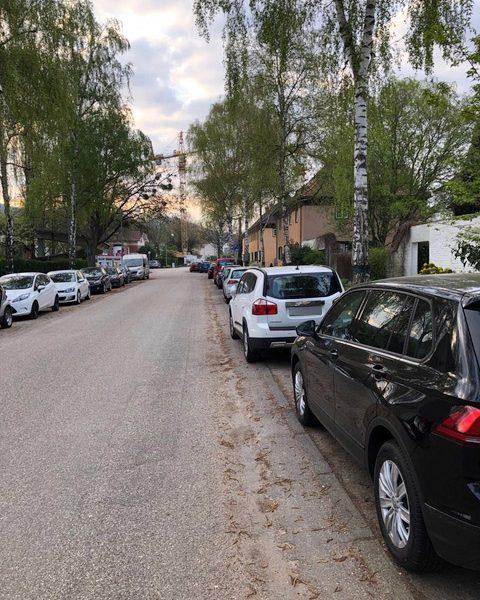 Verbesserung der Parksituation in der Weststadt