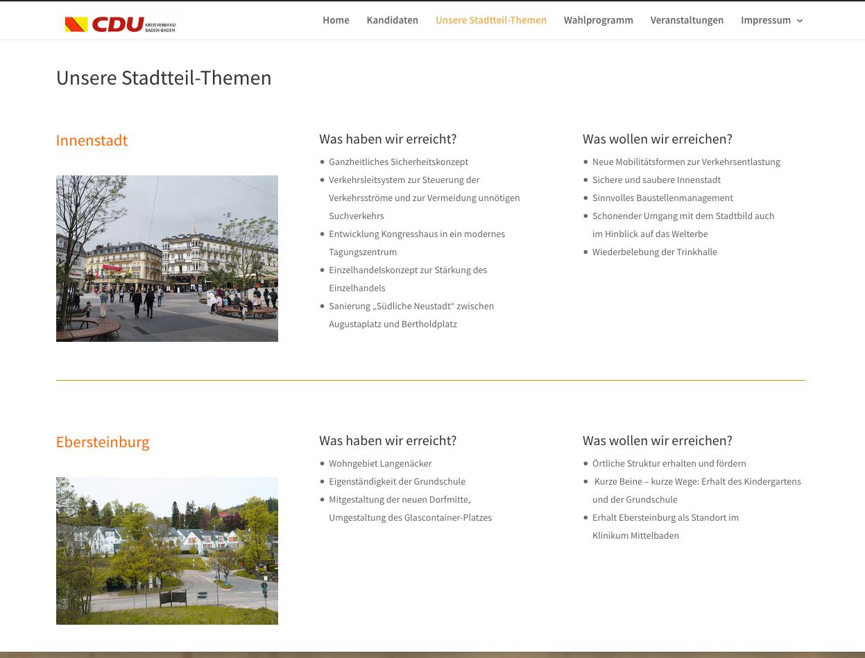 Screenshot Stadtteil-Themen CDU