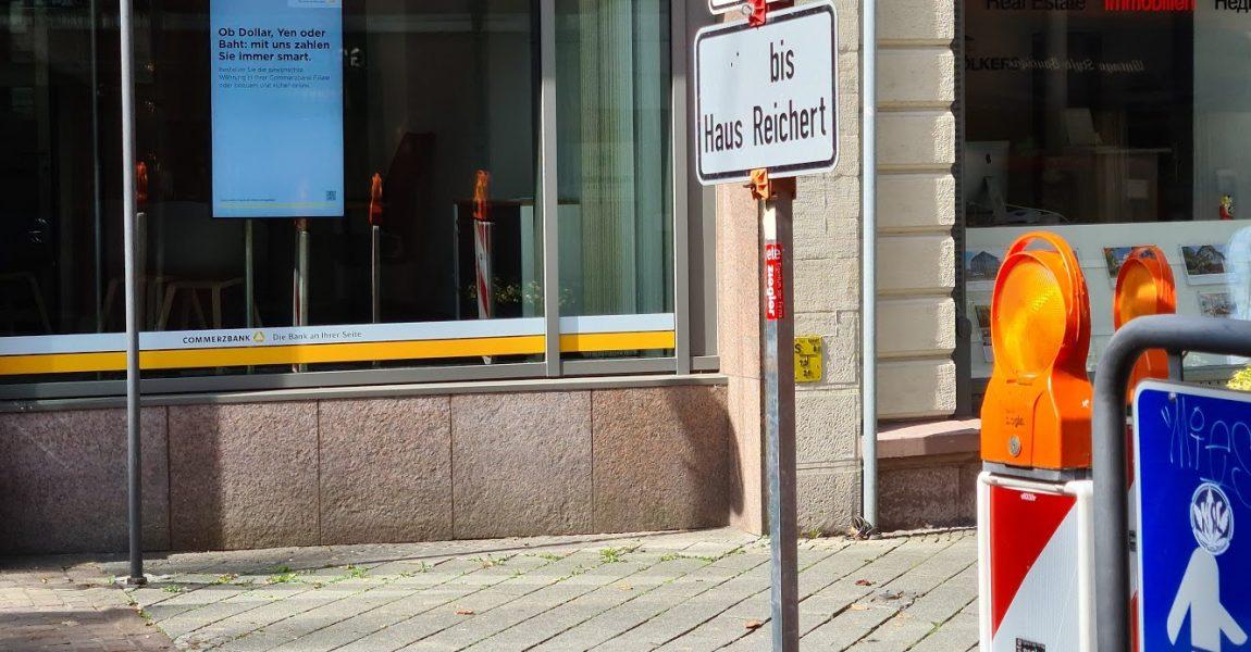 Grundsatzbeschluss zur Umgestaltung der Unteren Sophienstraße / Verkehrskonzeption Kreuzstraße / Fieserbrücke