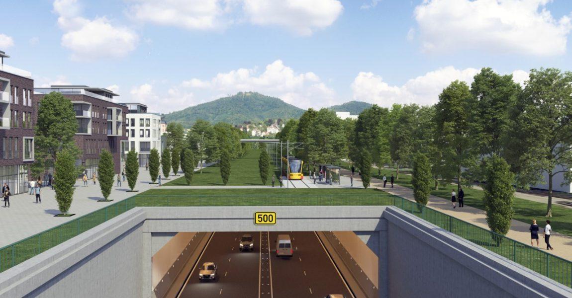 CDU will Plan für Untertunnelung der B500 und neues Stadtviertel